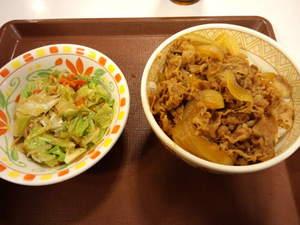 すき家塩だれ野菜牛丼.JPG