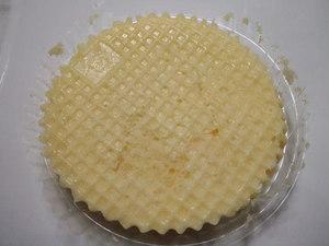 ヤマザキスプーンで食べるチーズ蒸しケーキ3.JPG